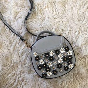 Urban Expressions Vegan Leather Flower Mini Bag